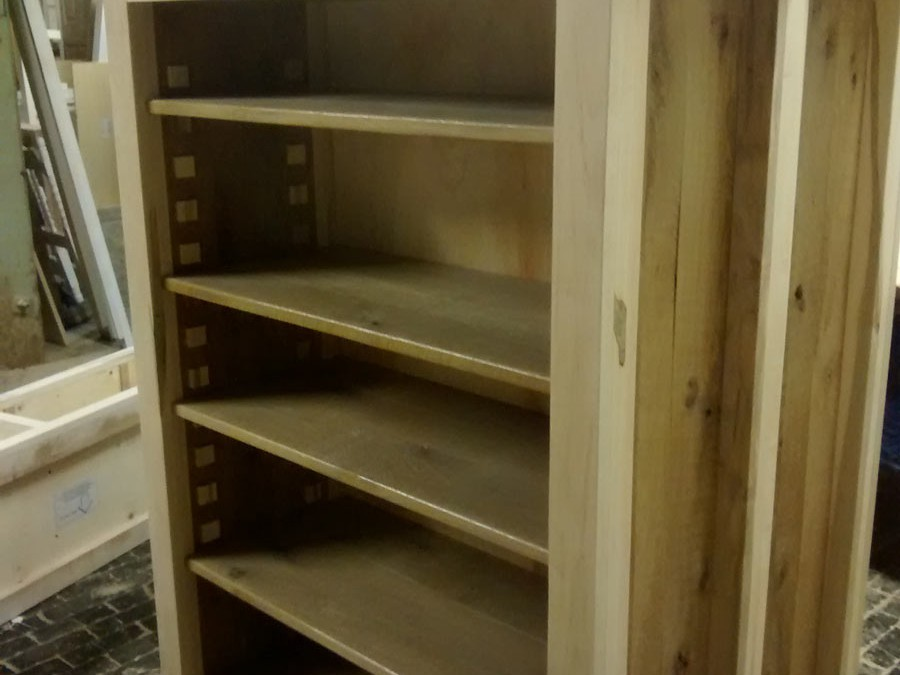 THE SHELVES & CABINETS