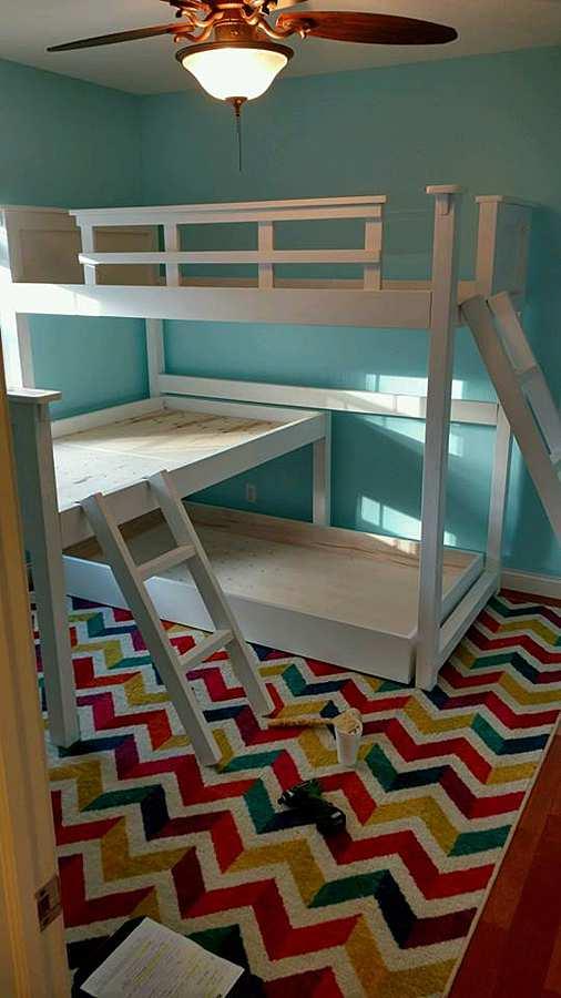 Custom Twin Beds
