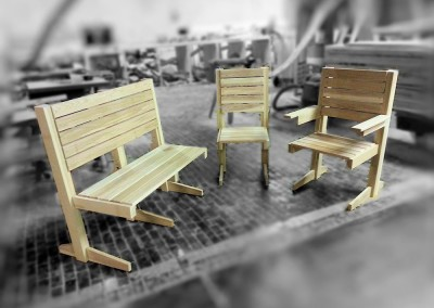 THE CHAIRS & BENCHES