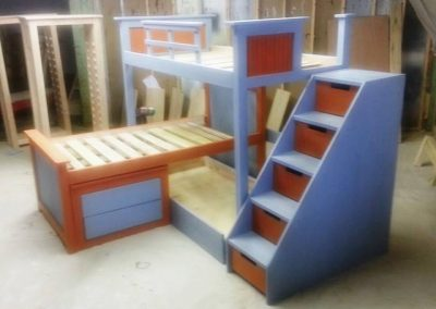 Loft Bunk with Drawers