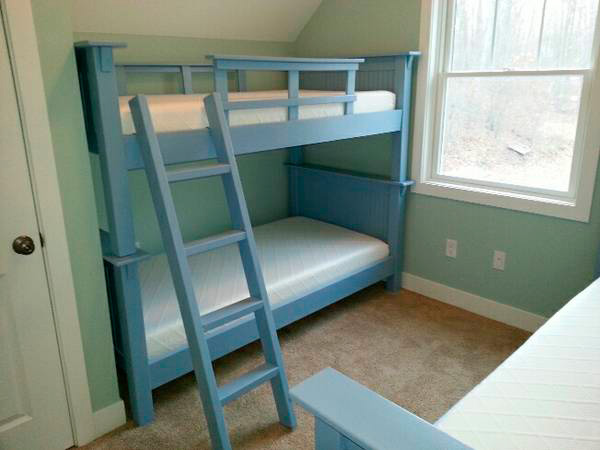Sturdy Custom Made Bunk Beds The Custom Cottage